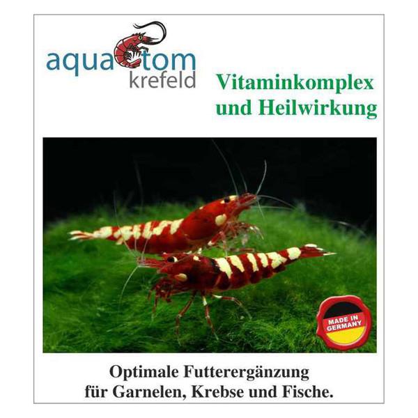 Vitaminkomplex und Heilwirkung für Garnelen