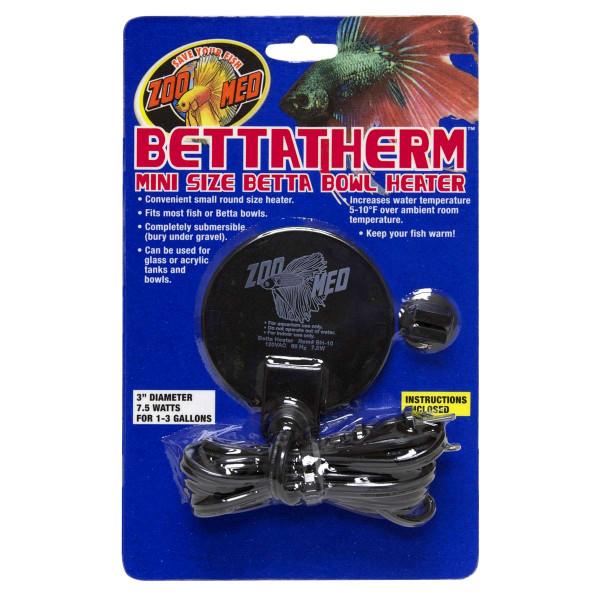 Bettatherm Mini Heater für Kampffische Glaskugel