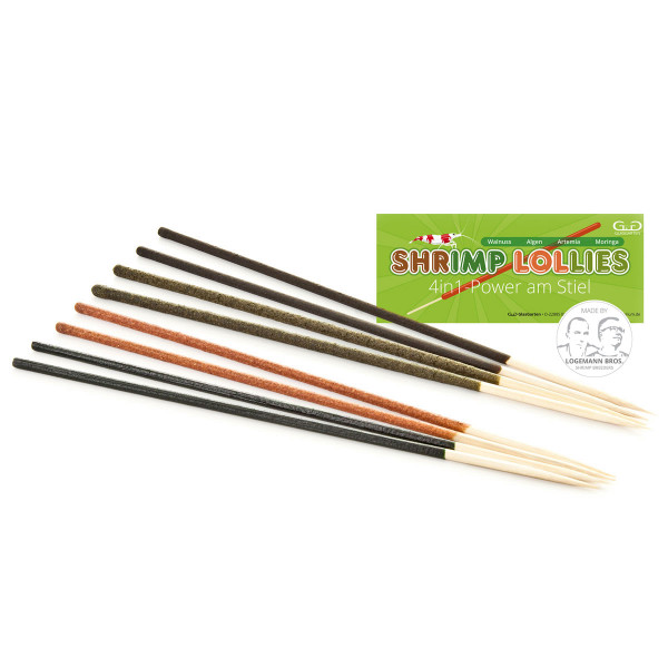 Glasgarten Shrimp Lollies Lutscher 4in1 Power