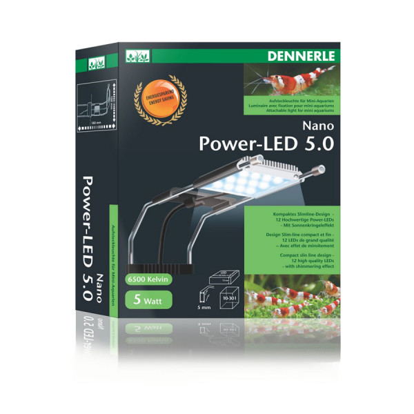 Dennerle Nano Power LED 5.0 Aquariumbeleuchtung