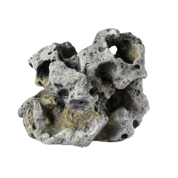 Aquarium Stein aus Polyrin in Grau