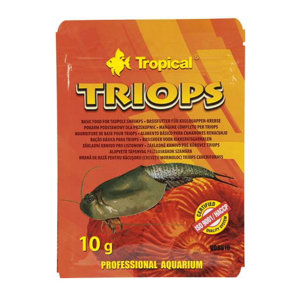 Triops Alleinmfuttermittel von Tropical