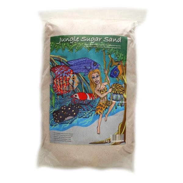 Jungle Sugar Sand 3kg von Preis Aquaristik für Süßwasserbecken