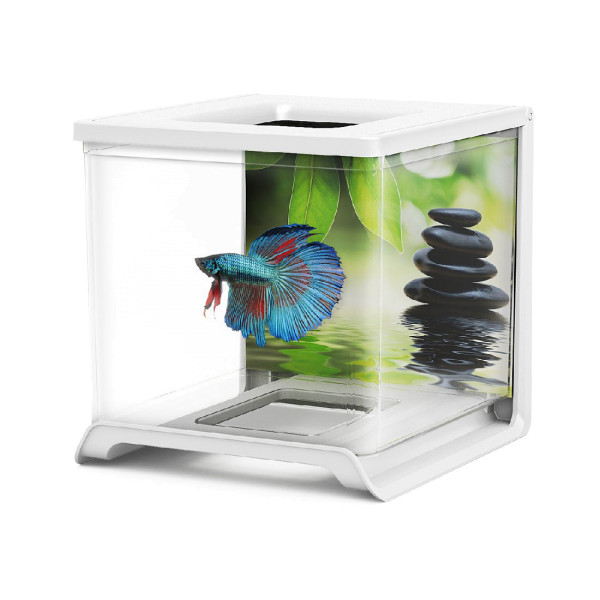 Betta Tank Mini Acrylglas Aquarium 1,8Liter