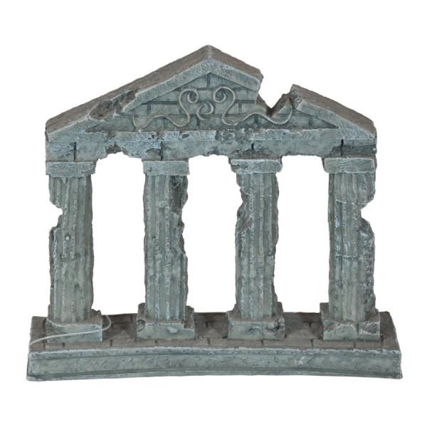 Antike griechische Säulendekoration