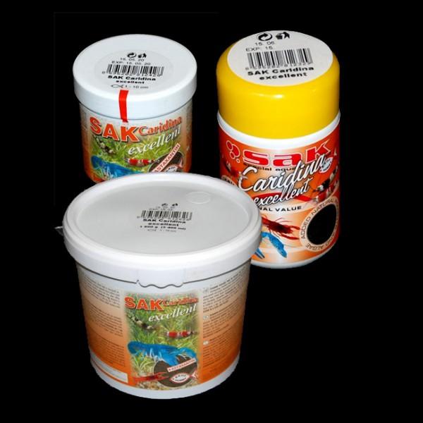 SAK Caridina Excellent Futter für Garnelen und Krebse