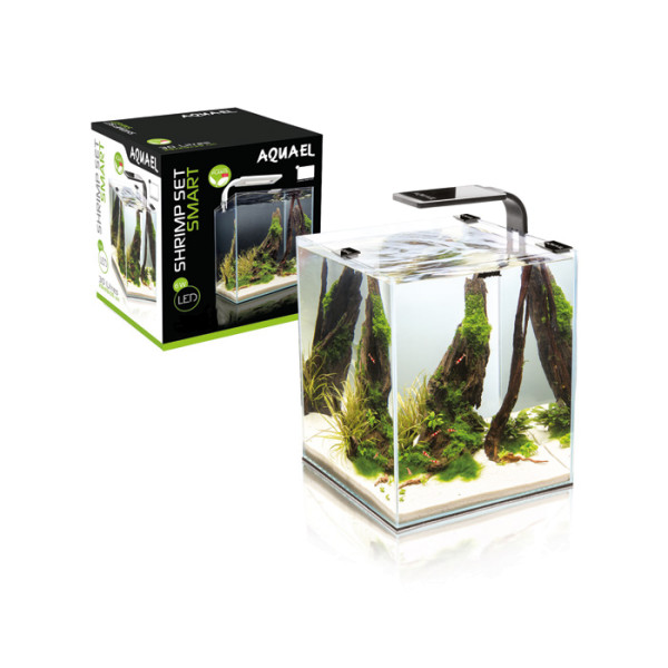 Aquael Shrimp Set Nano Cube Aquarium 20 und 30